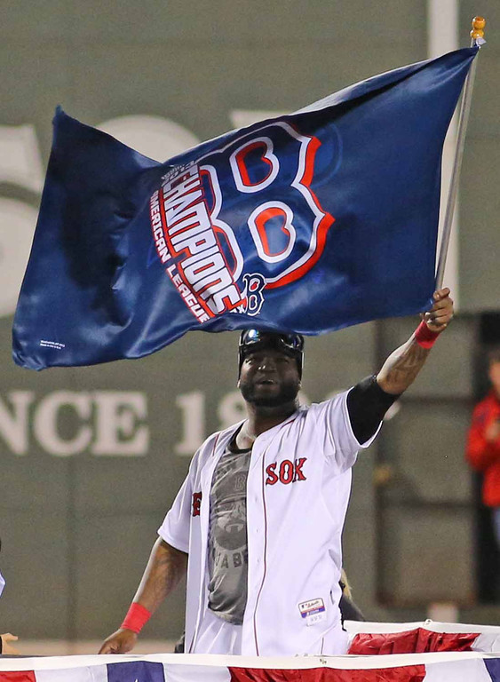 Until the last game of the World Series...the Red Sox are still the World Series Champions! (Photo courtesy of Kelly O'Connor/sittingstill and used with permission)