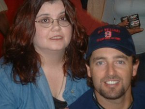 Me with Kevin Millar - September 2003 (It was either this or a picture of Pete Rose...)