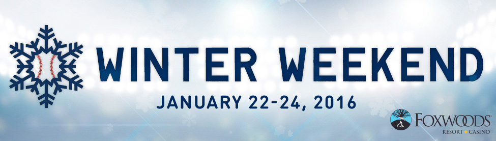 Notice anything missing from the official logo for the Winter Weekend? No mention of the Red Sox.